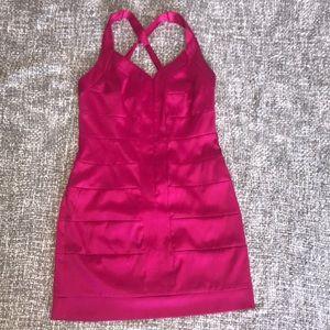 🔥 Hot Pink Cocktail Dress